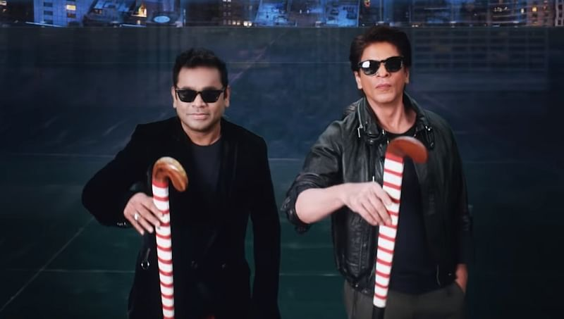 Teaser of Hockey Men's World Cup title song featuring AR Rahman, Shah Rukh Khan out!
