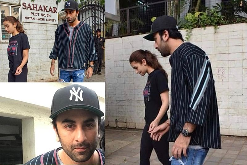 Ranbir Kapoor takes Alia Bhatt to clinic after she got hurt while shooting