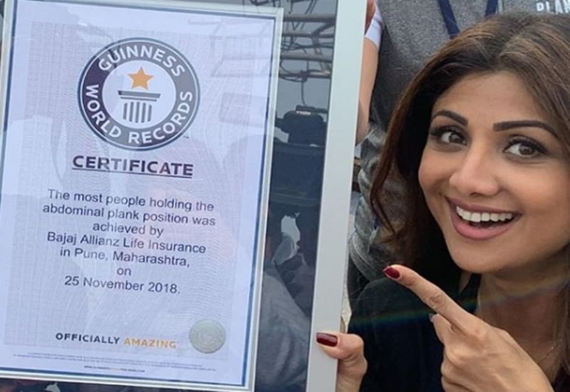 India enters record books with plankathon initiative