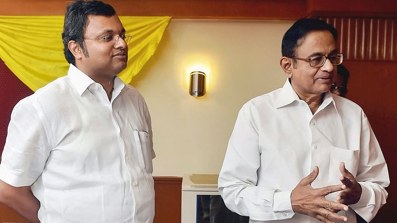 Relief for P Chidambaram's son Karti in IT case, Madras HC discharges him and his wife
