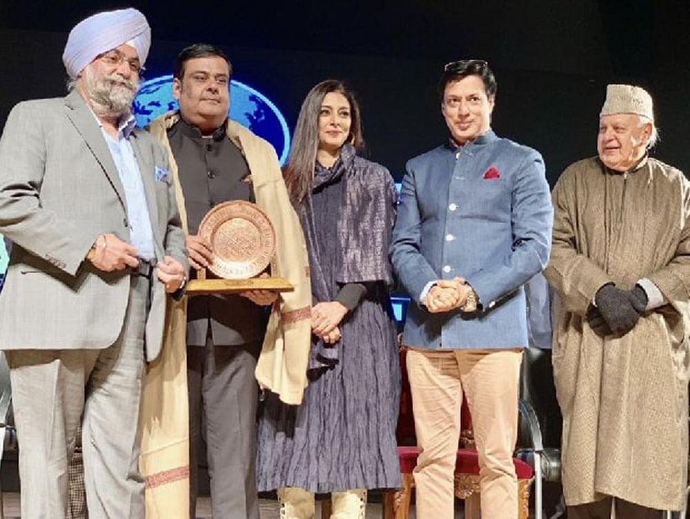 Tabu and Madhur Bhandarkarinaugurates'Kashmir World Film Festival'in Srinagar