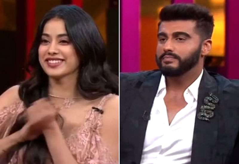 Koffee With Karan 6: Arjun Kapoor gets embarrassed talking about his sex life in front of sister Janhvi Kapoor