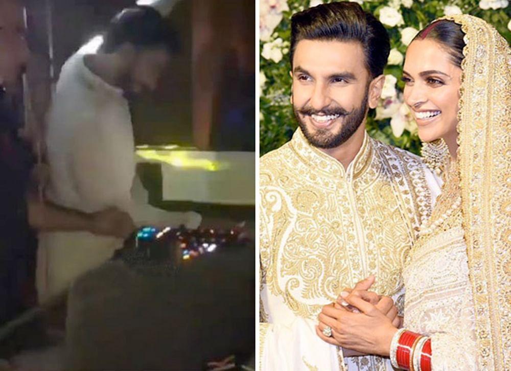 LEAKED DeepVeer Mumbai Reception VIDEOS: Groom Ranveer Singh set the dance stage on fire