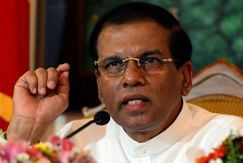 Sri Lankan President Maithripala Sirisena not running for 2nd term