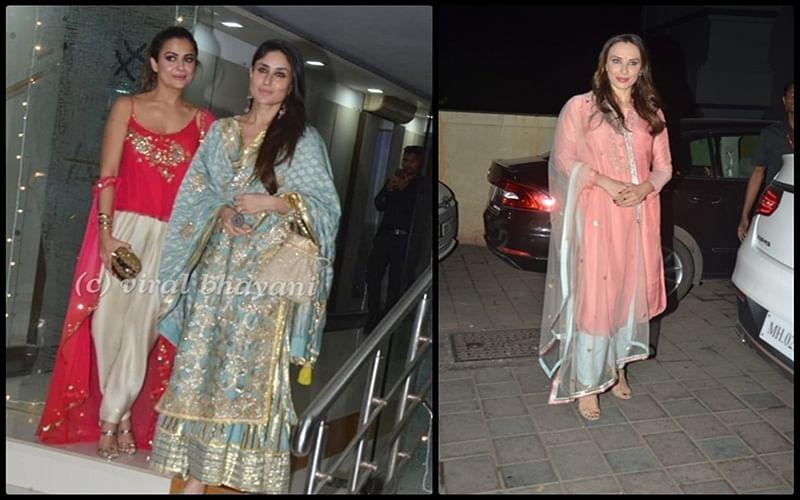 Mallika Bhatt Diwali Bash: Kareena Kapoor, Iulia Vantur and others in glitz and glamour