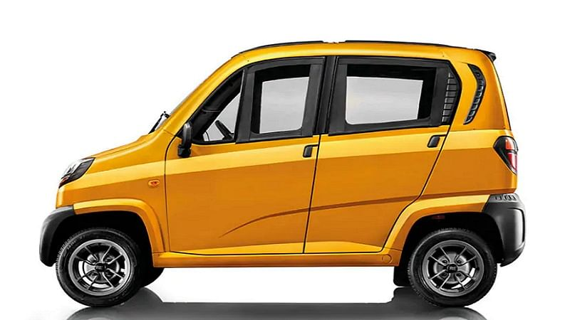 Why not drive quadricycle instead of a car, now?