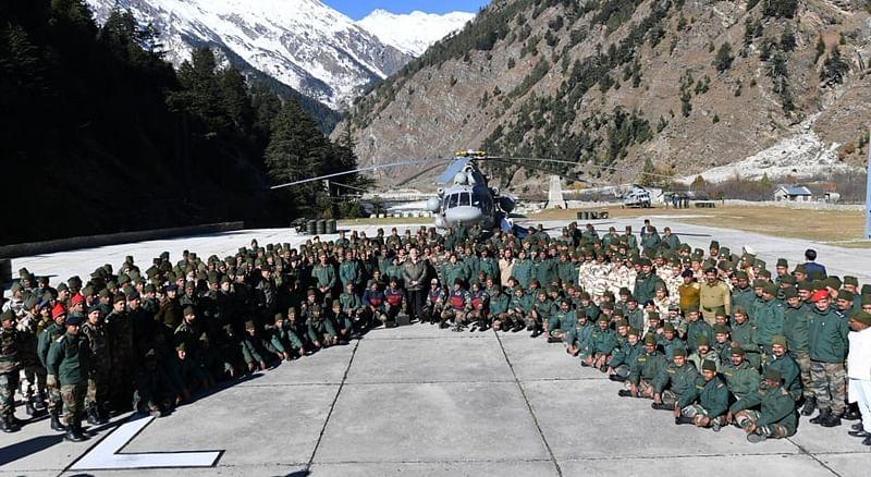 PM Narendra Modi celebrates Diwali with soldiers near India-China border in Uttarakhand