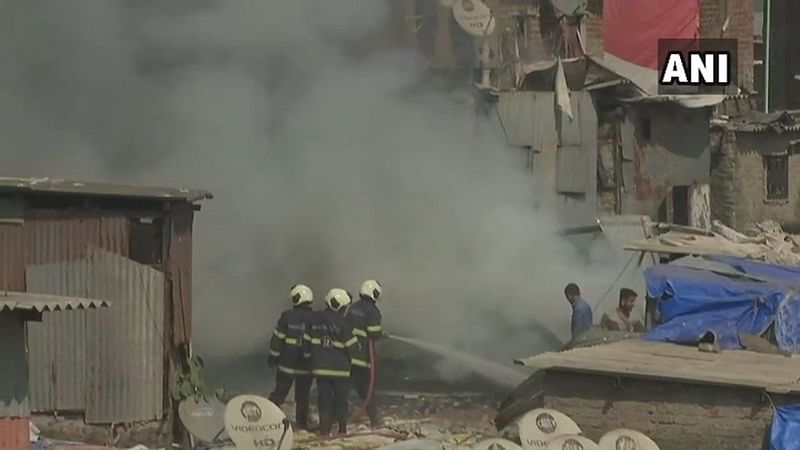 Mumbai: Fire breaks out at Shastri Nagar in Bandra; two injured, 15 huts gutted