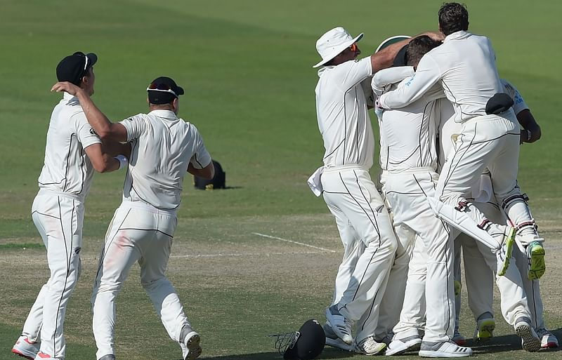 Pakistan vs New Zealand: Kiwi players perform Bhangra after clinching thrilling victory in 1st Test; watch