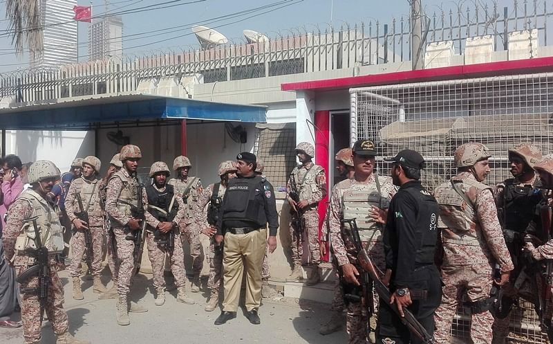 Pakistan: BLA claims responsibility for attack on Chinese consulate in Karachi; 7 killed