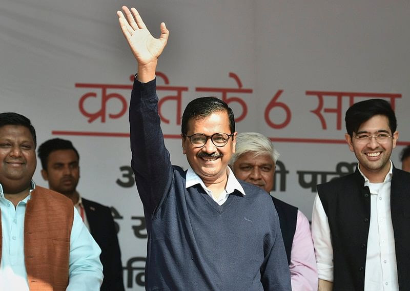 Arvind Kejriwal, six others cleared in rioting case