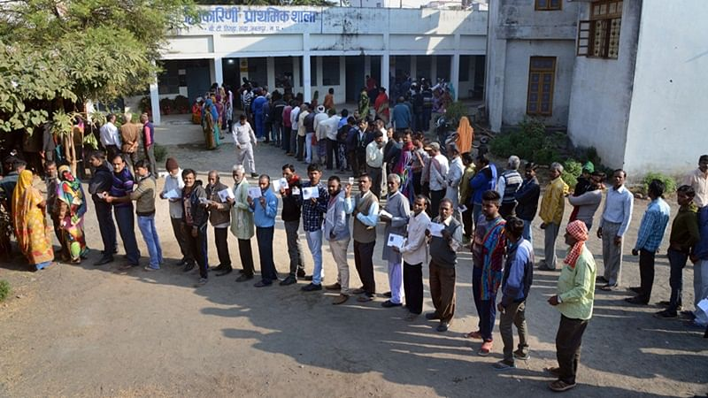 MP Assembly Elections 2018: 50% voting till 3 pm; several EVMs, VVPATs replaced after snags