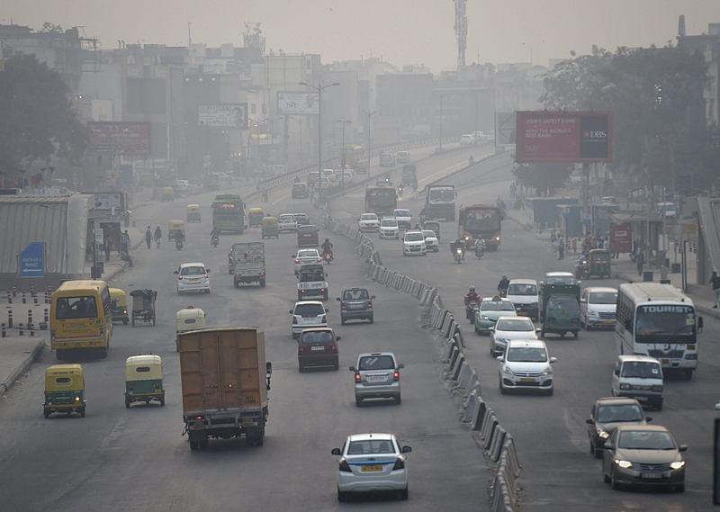 Rain for Delhi shortlived as air quality dips, fog delays trains