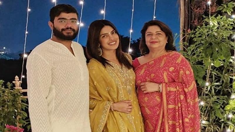Bride-to-be Priyanka Chopra celebrates her last Diwali as a maiden; see pics with family