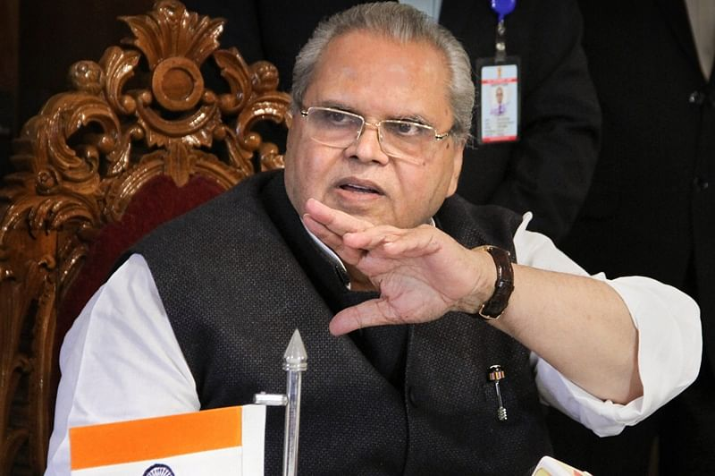 Jammu and Kashmir: Dissolved assembly to avoid 'unholy alliance' controlling, says Governor Satyapal Malik