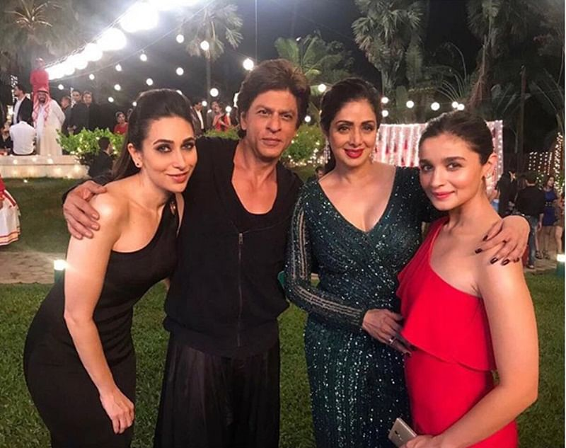 Shah Rukh Khan will not release 'Zero' special song featuring Sridevi before film's release