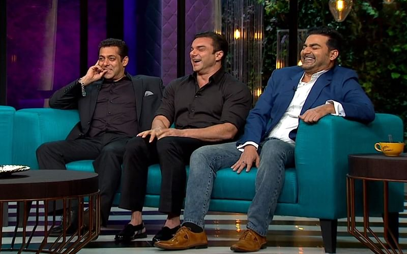 Bollywood's Sibling Secrets! Salman, Arbaaz and Sohail Khan's hilarious stories