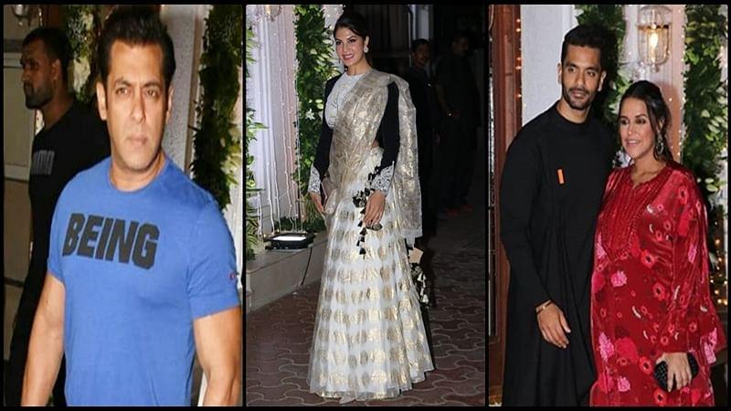 Shilpa Shetty Diwali bash 2018: Salman Khan to Jacqueline Fernandez, Bollywood celebs adorn desi style