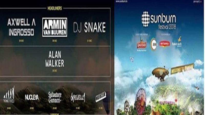 DJ Snake, Alan Walker to headline Sunburn 2018