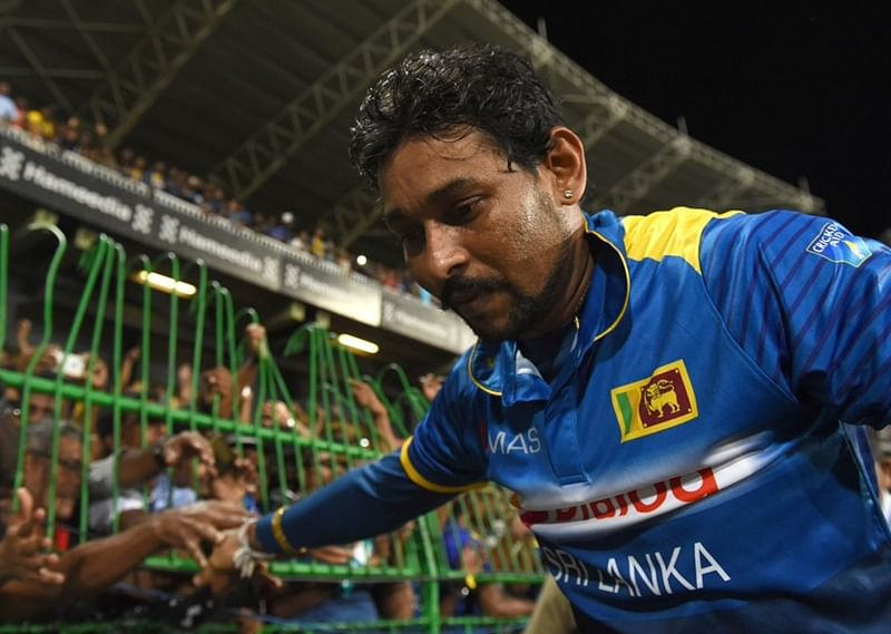 Former Sri Lankan cricketer Tillakaratne Dilshan joins Mahinda Rajapaksa's party