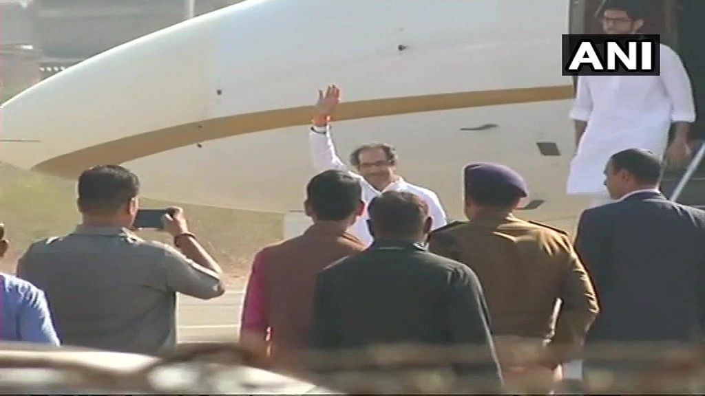 Ram Temple: Uddhav Thackeray reaches Ayodhya, Section 144 imposed in town