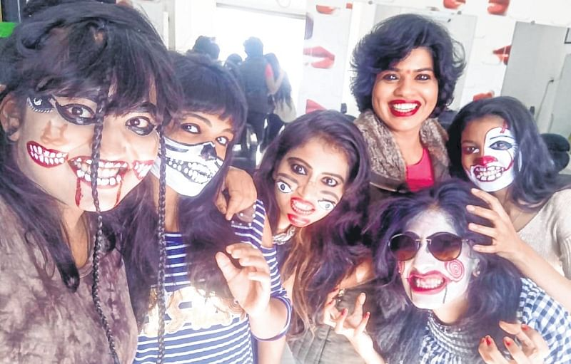 Fun, frolic and pranks mark halloween celebrations