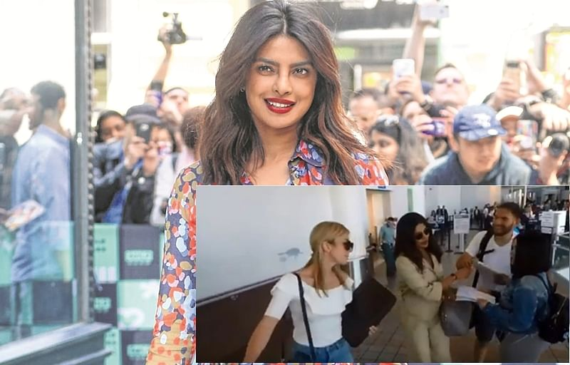 Bluff Master? Video shows Priyanka Chopra with fake fans!