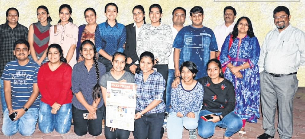 Indore: When students took the plunge