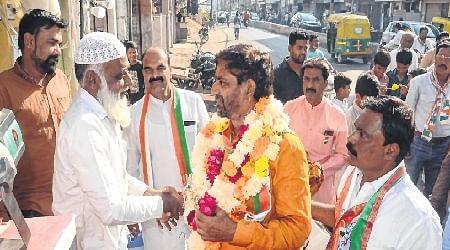 Ujjain: Rajendra Bharti's campaigning gains momentum