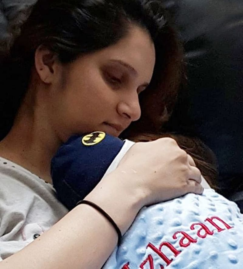 Sania Mirza holding son Izhaan in her arms is cuteness overloaded; see pic