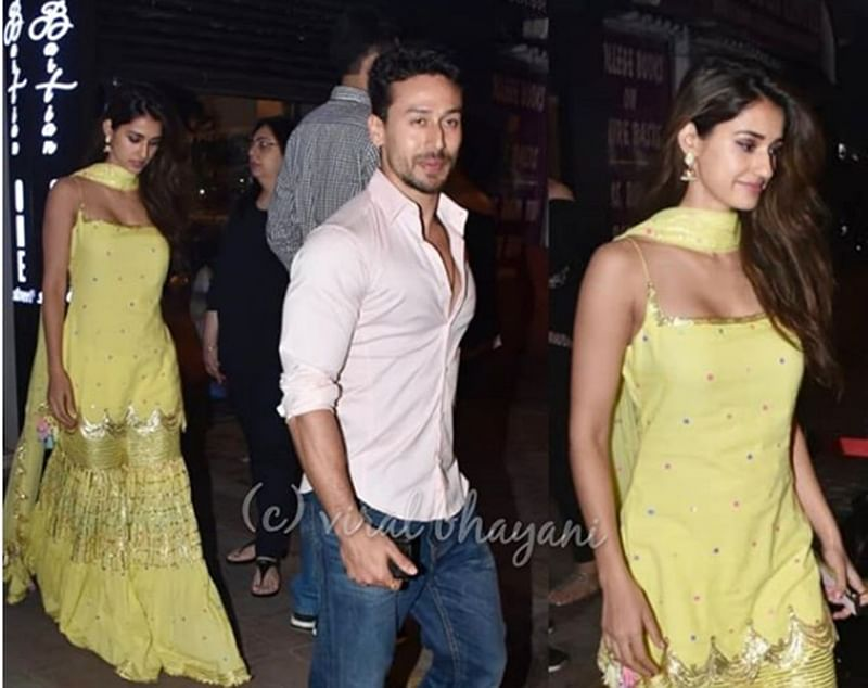 After sports bra backlash, Disha Patani finds solace in rumoured beau Tiger Shroff; spotted for a romantic dinner date