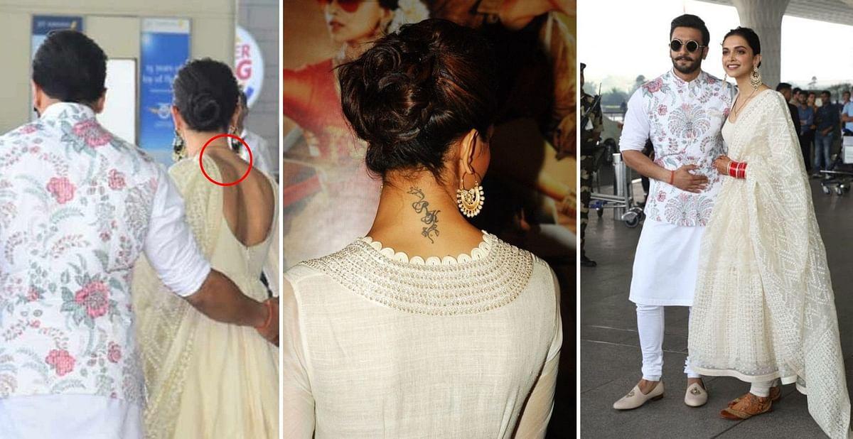 Wondering what happened to Deepika Padukone 'RK' tattoo post wedding with Ranveer Singh, find out