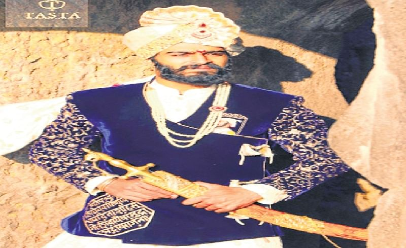 Recreating Shivaji's attire in Royal collection