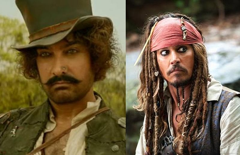 'They're both similar characters', Aamir Khan on Firangi of 'Thugs of Hindostan' being compared with Jack Sparrow