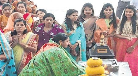 Ujjain: Lord Mahavir's 2545thnirvana utsava held