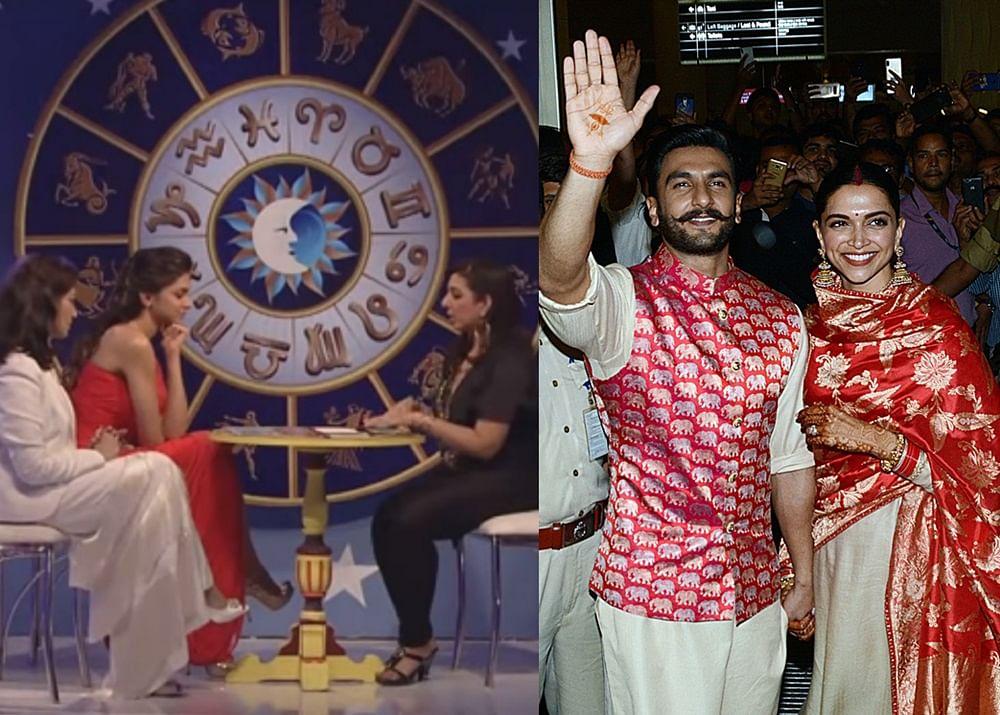 When a tarot card reader predicted Deepika will marry Ranveer instead of Ranbir! details inside