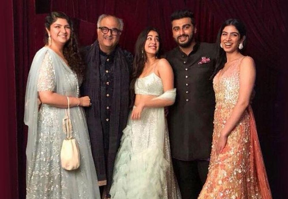 Boney Kapoor breaks downs while talking about his kids coming together after Sridevi's death at IFFI