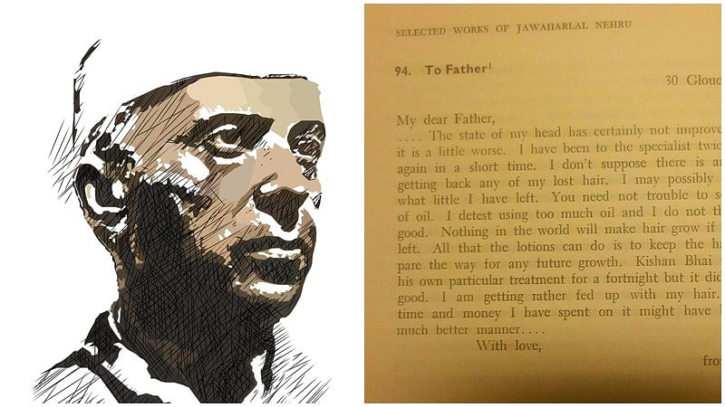 Nehru's letter to his father on hair loss is what we all will relate to!