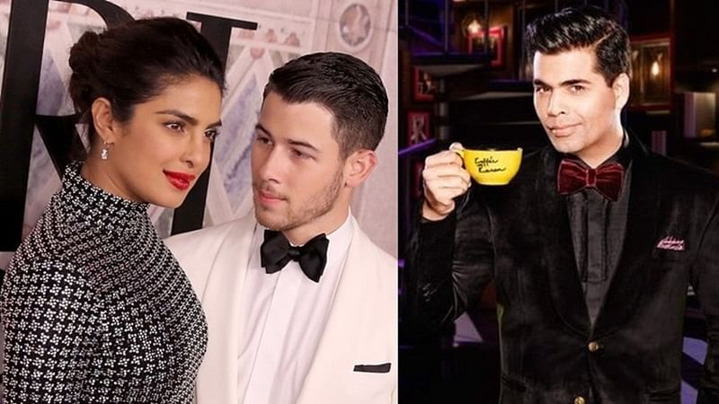 Priyanka-Nick to make their Koffee debut on Karan Johar's chat show finale?