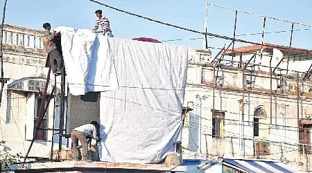 Ujjain: UMCteam covers LED screen over tax dues