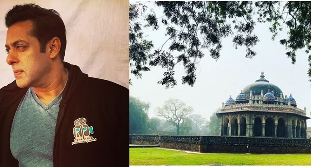 Legal trouble for Salman Khan's 'Bharat'? Crew sets up open air gym inside Humayun's Tomb