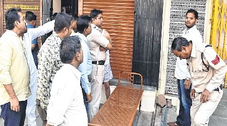 Ujjain: Burglars steal jewellery worth Rs.15 lakh from shop
