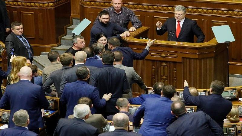 Ukraine declares martial law