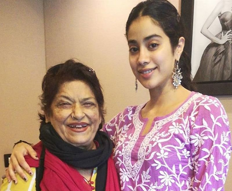 Dance guru Saroj Khan choreographing Sridevi's daughter and replica Janhvi Kapoor?