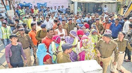 Ujjai: Demolition drive gains pace, officials face residents' ire