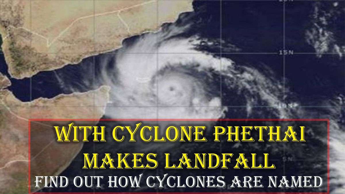 With Cyclone Phethai Making Landfall, Find Out How Cyclones Are Named