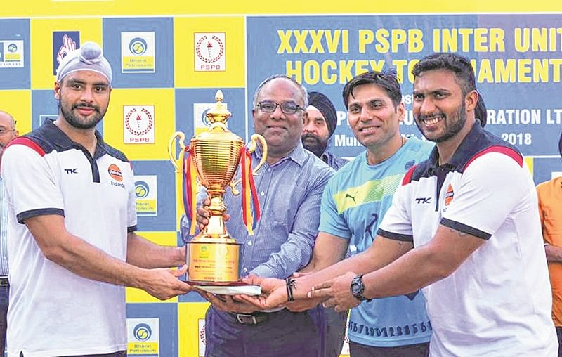 PSPB Inter-Unit Hockey Tournament: Indian Oil emerge champions