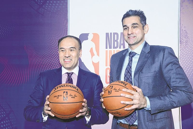 National Basketball Association comes to India