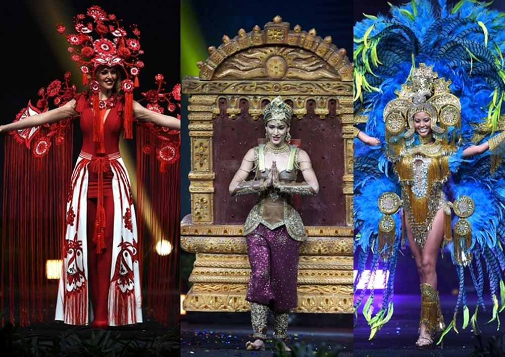Miss Universe 2018: Contestants grab eyeballs in stunning attires for National Costume Competition
