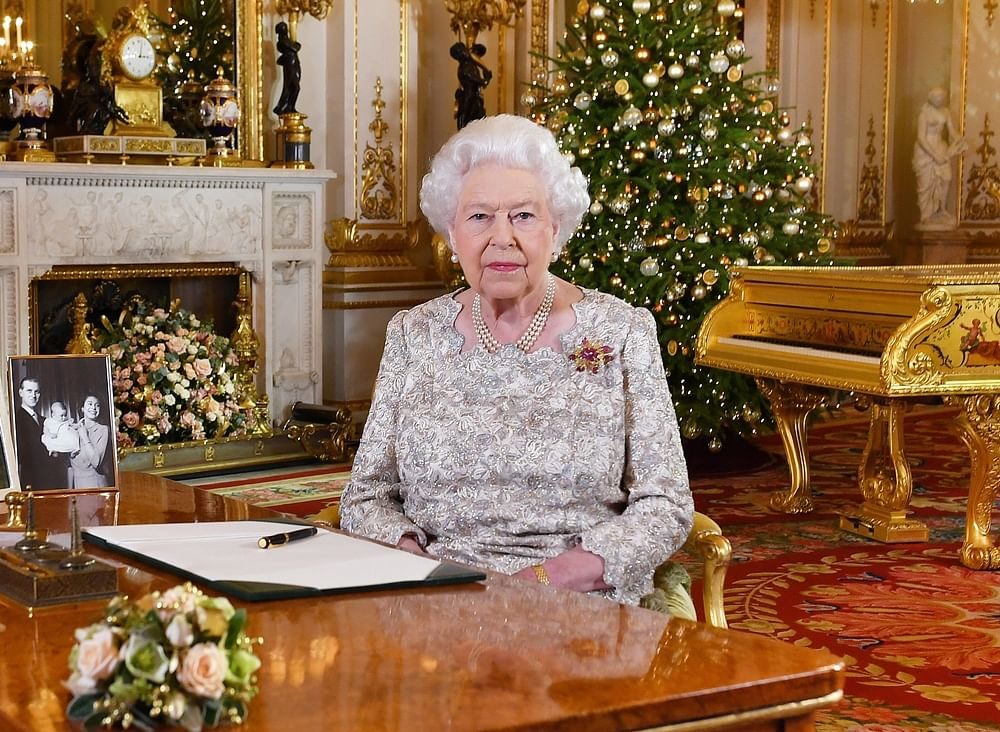 Queen Elizabeth's gold piano is inviting online backlash; check out the deets
